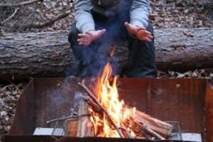 山里の焚き火カフェプラン