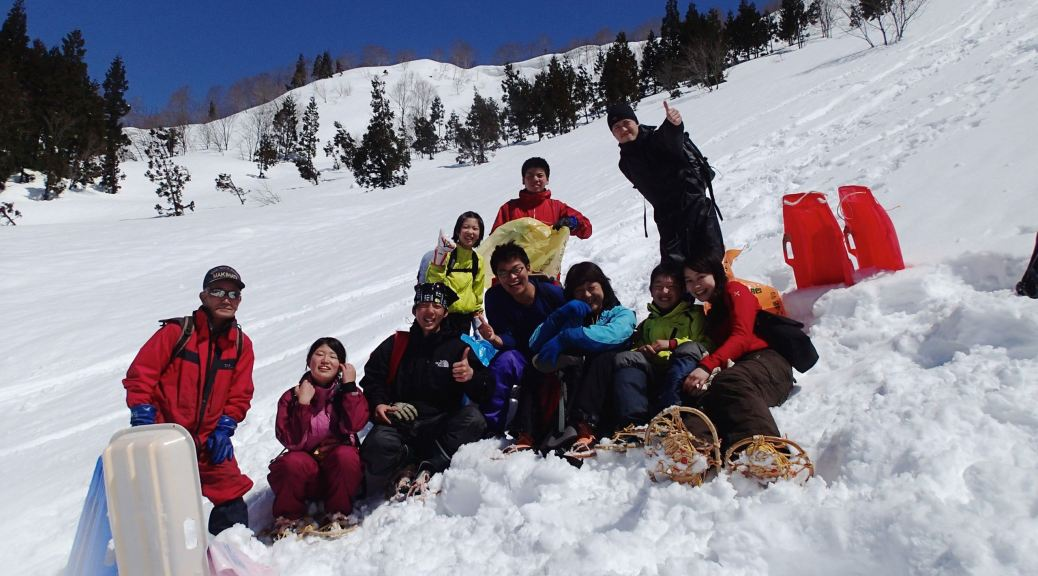中高生向け雪ざんまいキャンプ