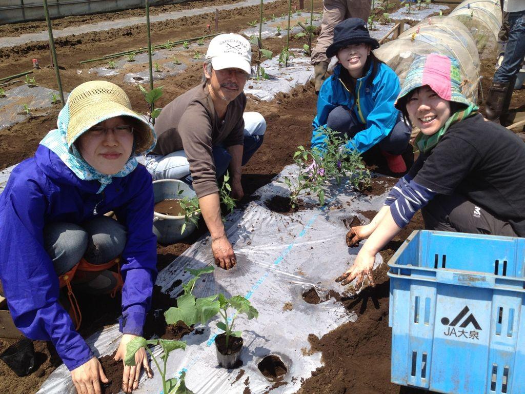 『東京で農業!2015』受講生募集のお知らせ
