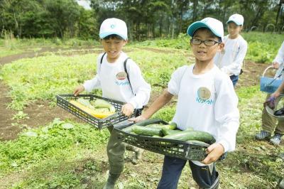 夏休み!小学生農業キャンプ「クボタ地球小屋」募集開始!