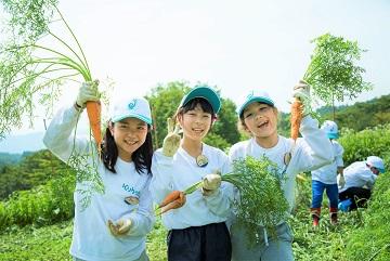 \参加者募集/ 夏休み!小学生農業キャンプ「クボタ地球小屋」