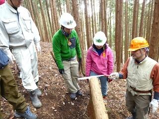 第11期「森林ボランティア青年リーダー養成講座 in関西」