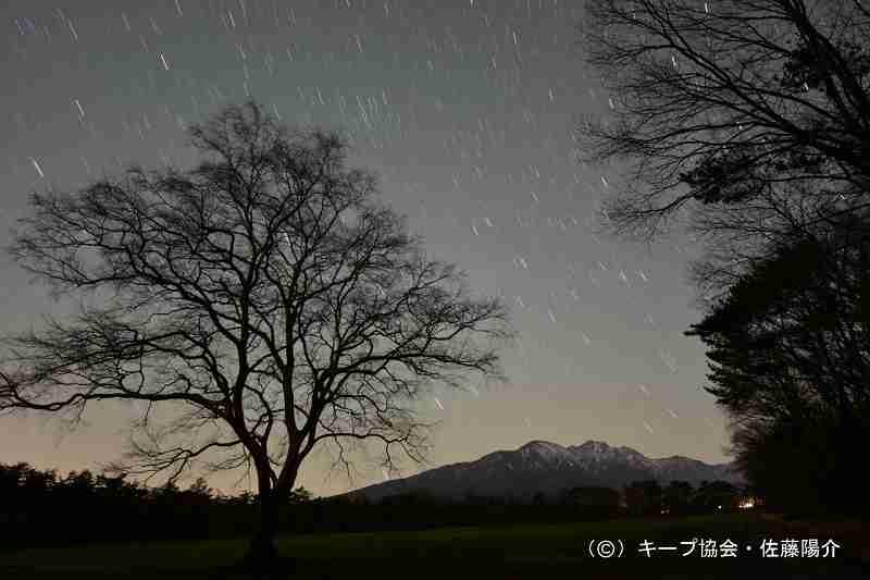 森のやすみじかん −冬の回− 「新月ナイトハイク」