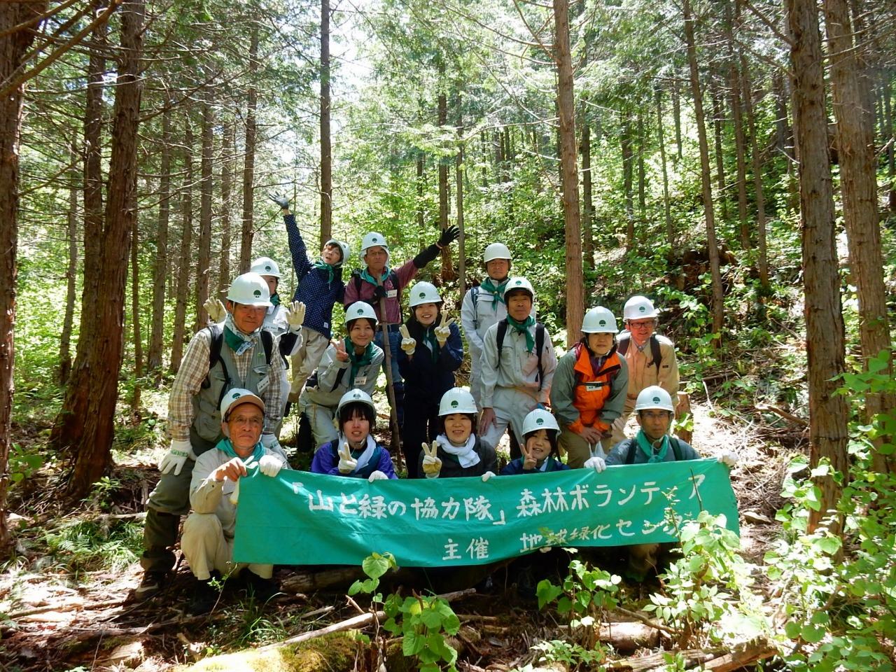 森林ボランティア募集 ■木曾ヒノキを次世代に