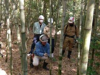 2021年11月21日【森林作業体験】キノコの森 森林の楽校